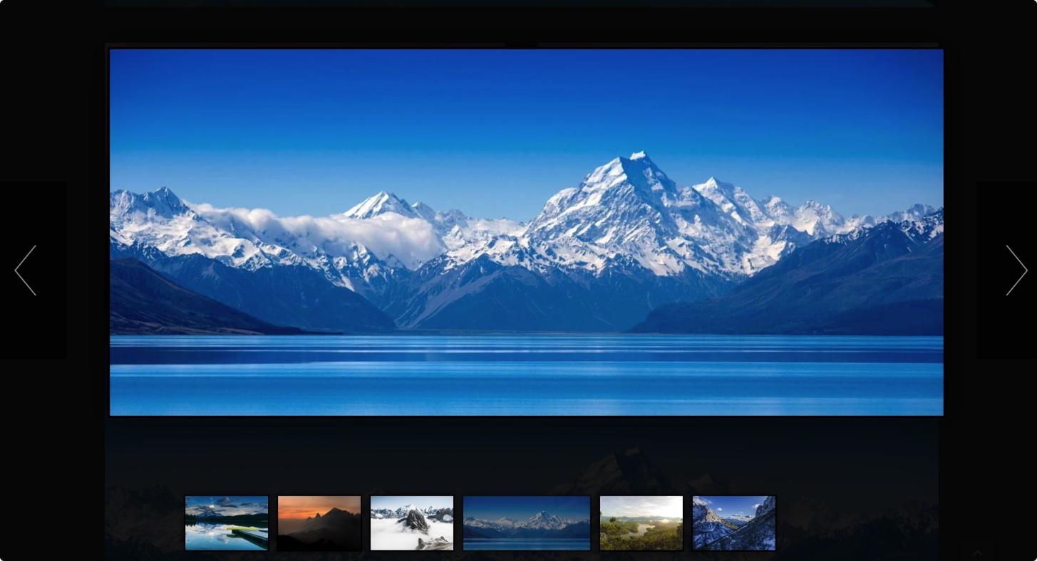 专业高端摄影网站源码-简约大气自适应