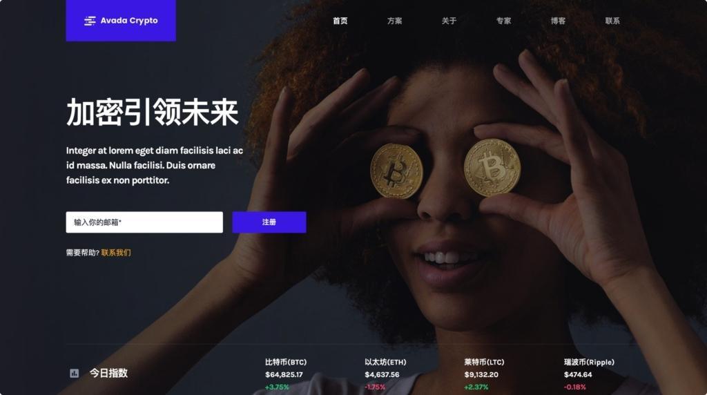 加密货币/BTC比特币网站源码